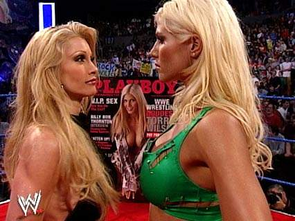 Torrie And Sable Kiss