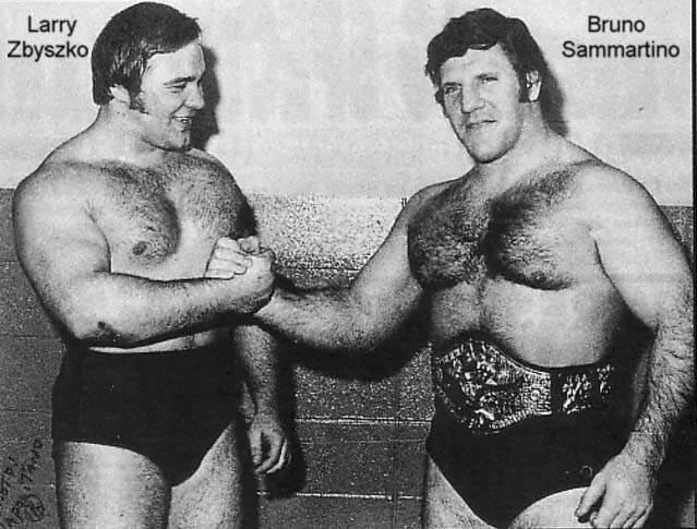 Bruno Sammartino & Larry Zbyszko