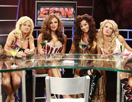 Ecw strip poker screen caps
