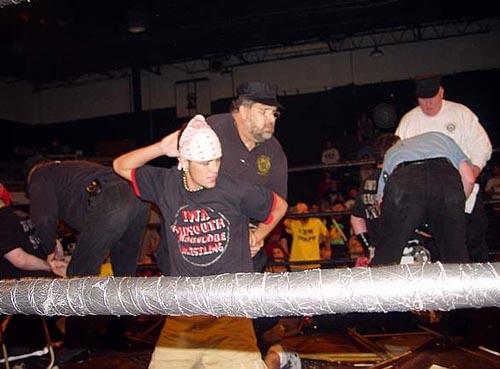 Bbw Bad To The Bone Wrestling 77