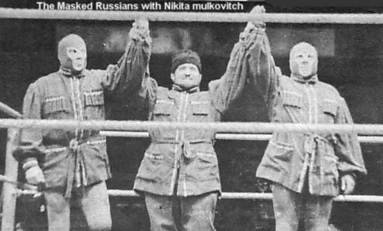 Masked Russians Oww