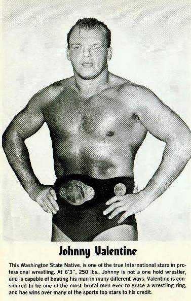 WRESTLING GALLERY. Johnny Ace