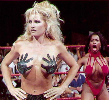 WWE Sable vs Jacqueline