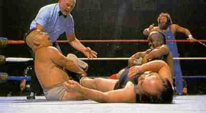 hatian midget wrestler