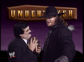 CLASSIC MATCH: The Undertaker vs. The Ultimate Warrior ...