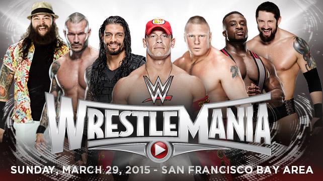 WWE WM 31