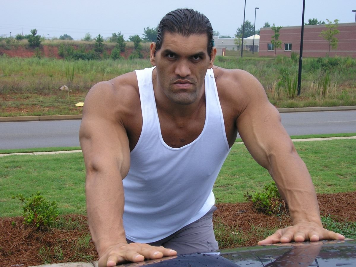 Great khali hoping to open a wrestling school online world of great khali courtesy of lordsofpain voltagebd Image collections
