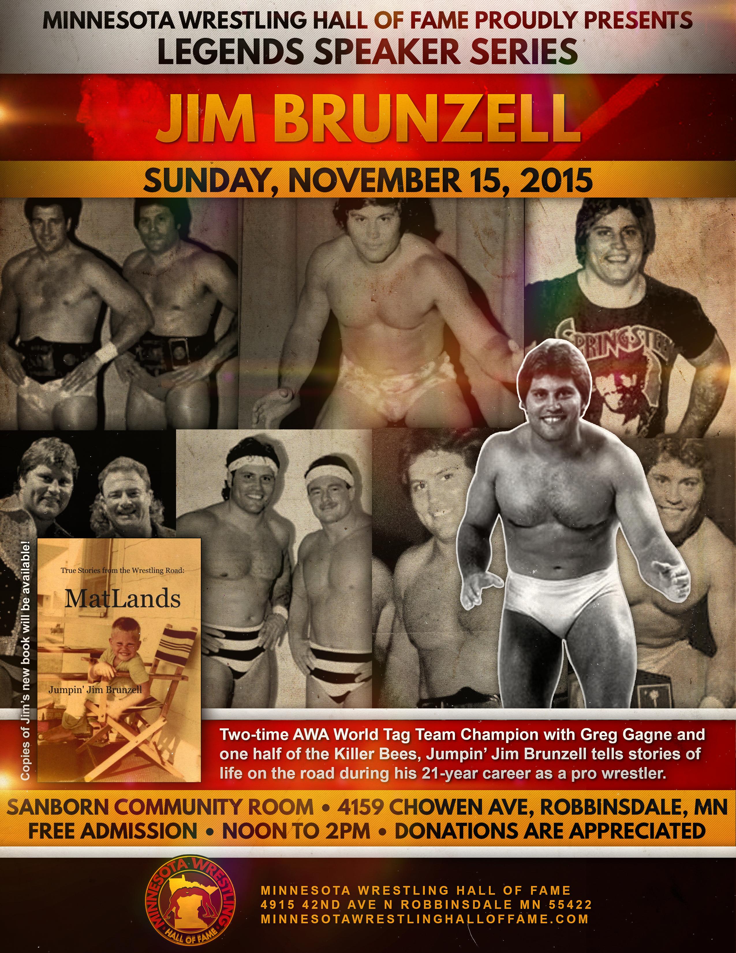 MN Wrestling HoF - Jim Brunzell (1)