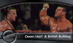 Owen Hart & British Bulldog