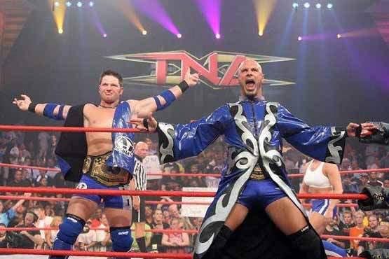 Christopher Daniels & AJ Styles