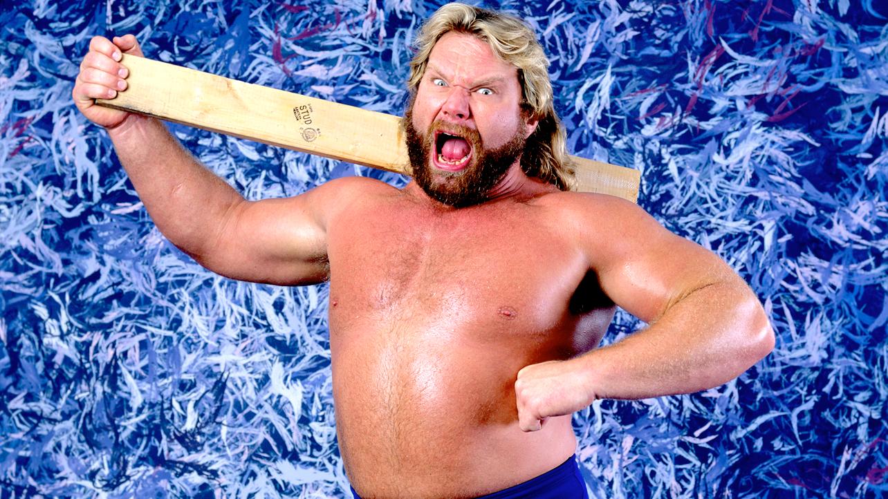 """Jim Duggan in his WWF days as """"Hacksaw."""""""