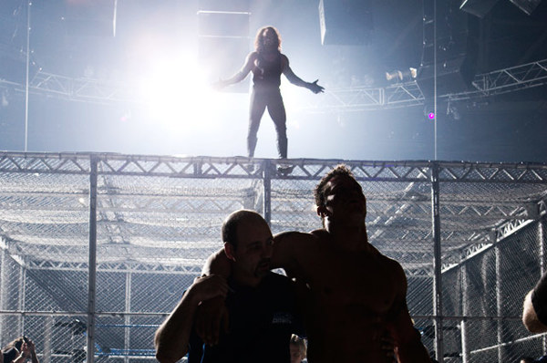 The Undertaker leaves no doubt inside Hell in a Cell