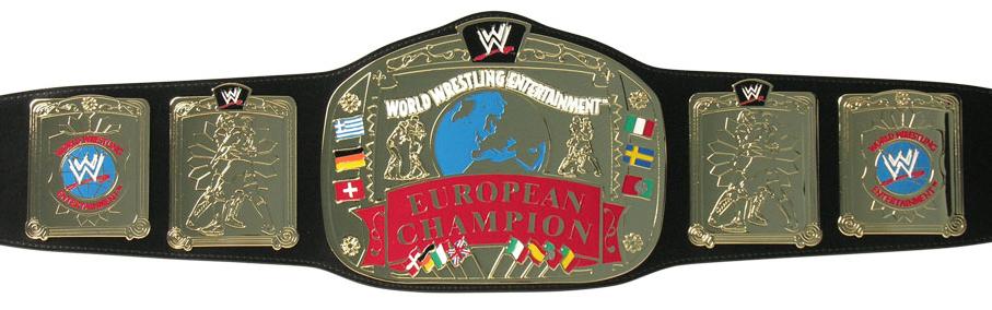 European Championship WWE European Title –...