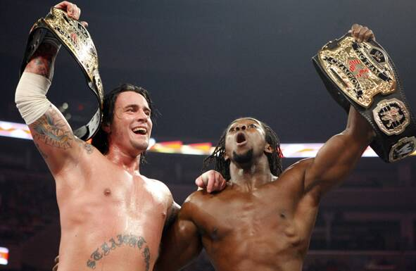 CM Punk & Kofi Kingston