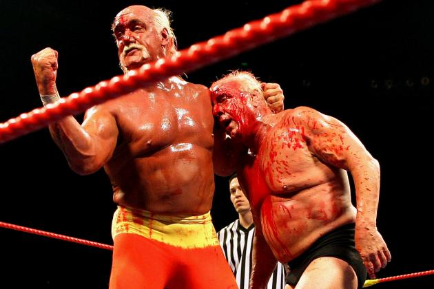 Hogan and Ric Flair
