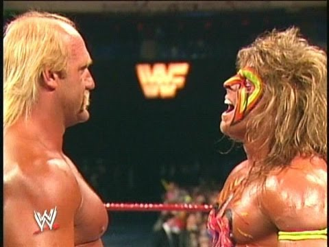 """The Ultimate Challenge"" at WrestleMania 6"