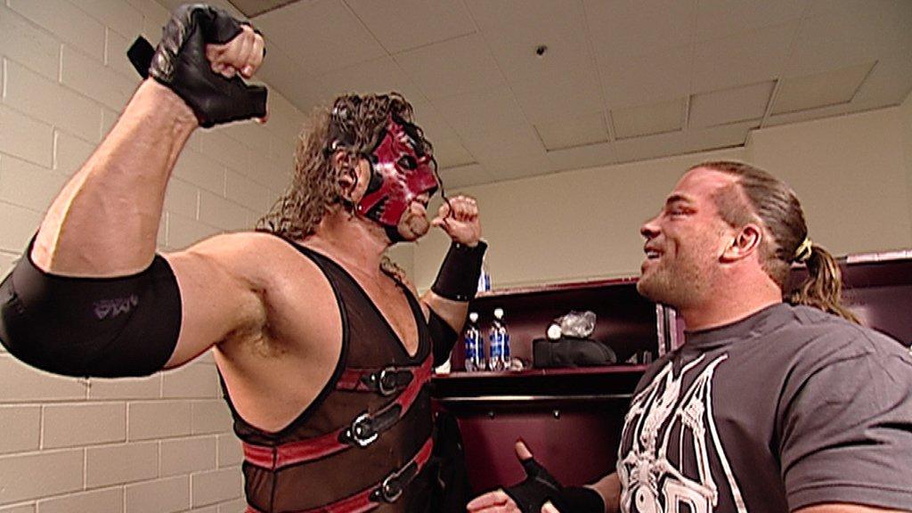 Undertaker vs Rob Van Dam